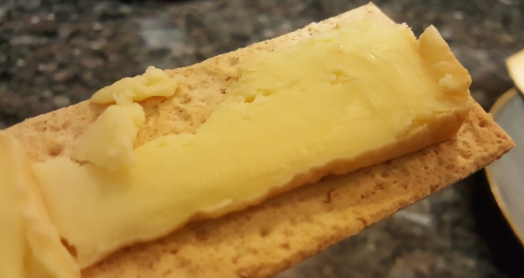 Sophelise Slice on Castleton Wheat Cracker
